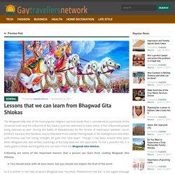 Important Life Lessons from Bhagwad Gita Shlokas