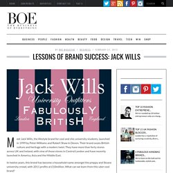LESSONS OF BRAND SUCCESS: JACK WILLS