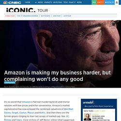 5 lessons for companies that plan to survive Amazon's retail