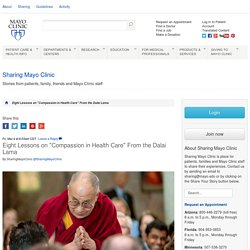 Eight Lessons on Compassion in Health Care From the Dalai Lama