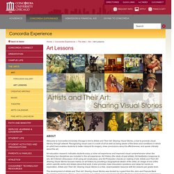 Concordia University Chicago - Art Lessons