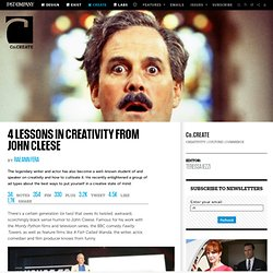 4 Lessons In Creativity From John Cleese