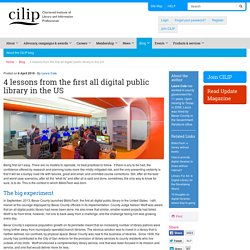 4 lessons from the first all digital public library in the US