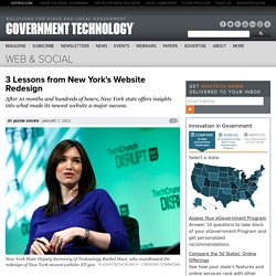 3 Lessons from New York's Website Redesign