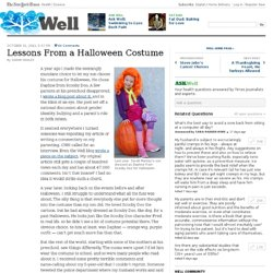Lessons From a Halloween Costume