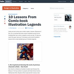 10 Lessons From Comic-book Illustration Legends