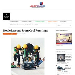 Movie Lessons From Cool Runnings