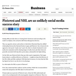 Lessons in social media strategy from the NHL