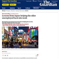 Lessons from Japan: helping the older unemployed back into work