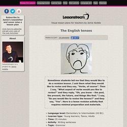 Lessonstream.org by Jamie Keddie The English tenses