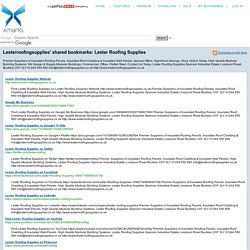 Lester Roofing Supplies (Xmarks shared folder)