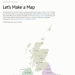 Let's Make a Map