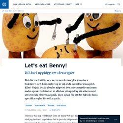 Let's eat Benny! · Mia Smith