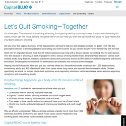 Let's Quit Smoking - Together