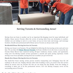 Serving Toronto & Surrounding Areas!