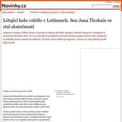 Létající kolo vzlétlo v Letňanech. Sen Jana Tleskače se stal skutečností– Novinky.cz