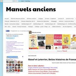Manuels anciens: Ozouf et Leterrier, Belles histoires de France (Histoire CE 1951)