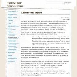 Letramento digital - Estudos de Letramento