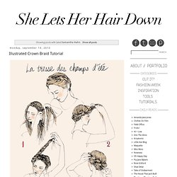 She Lets Her Hair Down: Samantha Hahn