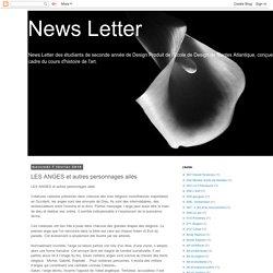 News Letter: LES ANGES et autres personnages ailés