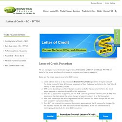 Letter Of Credit - LC - MT700
