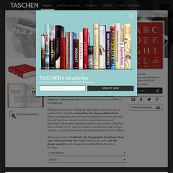 Letter Fountain - TASCHEN Books