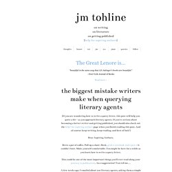 How to Write a Query Letter: Literary Agents Share Advice