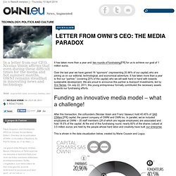 Letter from OWNI's CEO: The media paradox