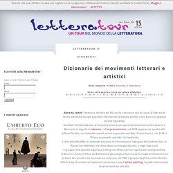 dizionario, movimenti, letterari, artistici, arte Astratta, Action painting, Barocco, Beat generation, Body art, Cinetica, Classicismo, Commedia dell'arte, Costruttivismo, Cu