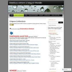 Didattica e dintorni (il blog di Vittori@)