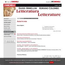 Autori in rete « Armellini, Colombo – Letteratura letterature