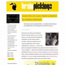 Anaïs Nin on Love, Hand-Lettered by Debbie Millman – Brain Pickings