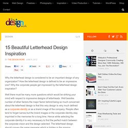 15 Beautiful Letterhead Design Inspiration