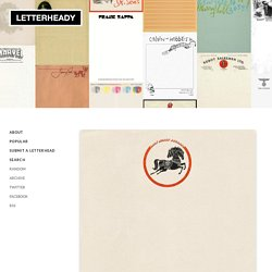 Interesting Letterhead Designs | Letterheady