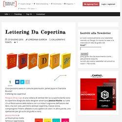 Lettering da copertina – Robadagrafici.net