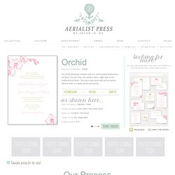 Aerialist Press - Affordable Letterpress Wedding Invitations