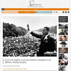 """Lettre du FBI à Martin Luther King: """"Je te le répète, tu es une énorme arnaque et un démon, vicieux en plus."""""""