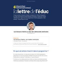 """""""l'information à l'heure d'Internet""""- La lettre de l'éduc - Courrier international"""