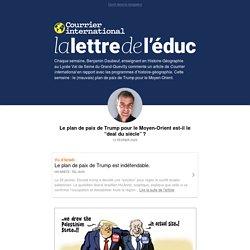 La lettre de l'éduc - Courrier international