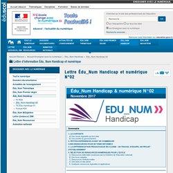 Lettre Édu_Num Handicap et numérique N°02