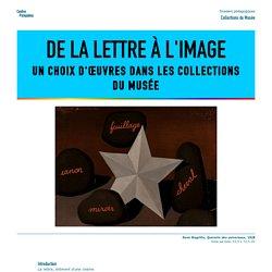 De la lettre à l'image, Centre Pompidou