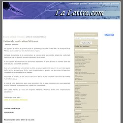 lettre de motivation - emploi | pearltrees