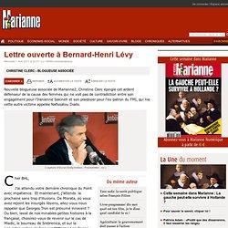 Lettre ouverte à Bernard-Henri Lévy