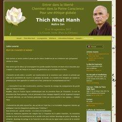 Thich Nhat Hanh Paris 2012