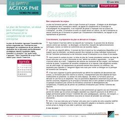 La lettre AGEFOS PME > Nord Picardie > Essentiel