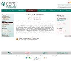 La lettre du CEPII - Succès et risques des Abenomics
