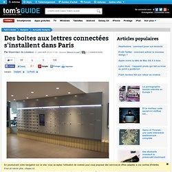 Des boites aux lettres connectées s'installent dans Paris