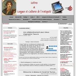 Lettres & Langues et Cultures de l'Antiquité