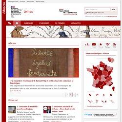 Lettres-Éduscol