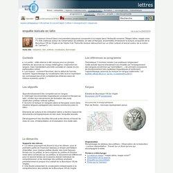 lettres - enquête lexicale en latin